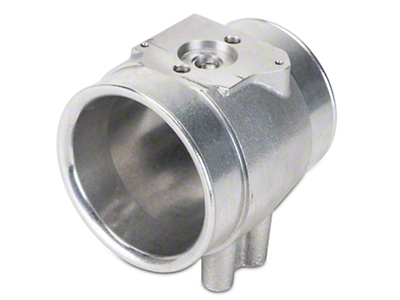 C&L 80mm Mass Air Meter / Sensor Housing (86-93 5.0L, Excluding Cobra)