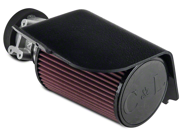 C&L Short Ram Air Intake with 73mm MAF Housing (94-95 GT)