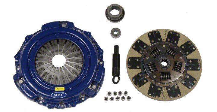 How To Install Spec Stage 2 Clutch On Your Mustang Americanmuscle