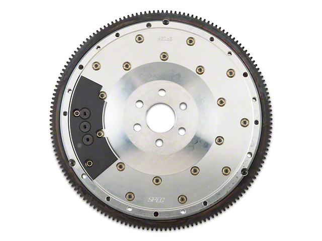 Spec Billet Aluminum Flywheel; 6 Bolt 50oz (86-95 5.0L, 93-95 Cobra)