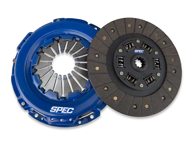 Spec Stage 1 Organic Clutch Kit; 10 Spline (05-June 07 V6)