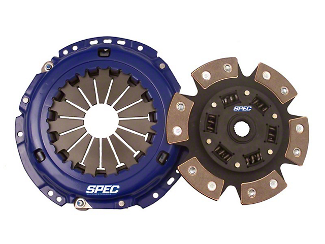 Spec Stage 3 Carbon Clutch Kit; 10 Spline (05-10 GT)