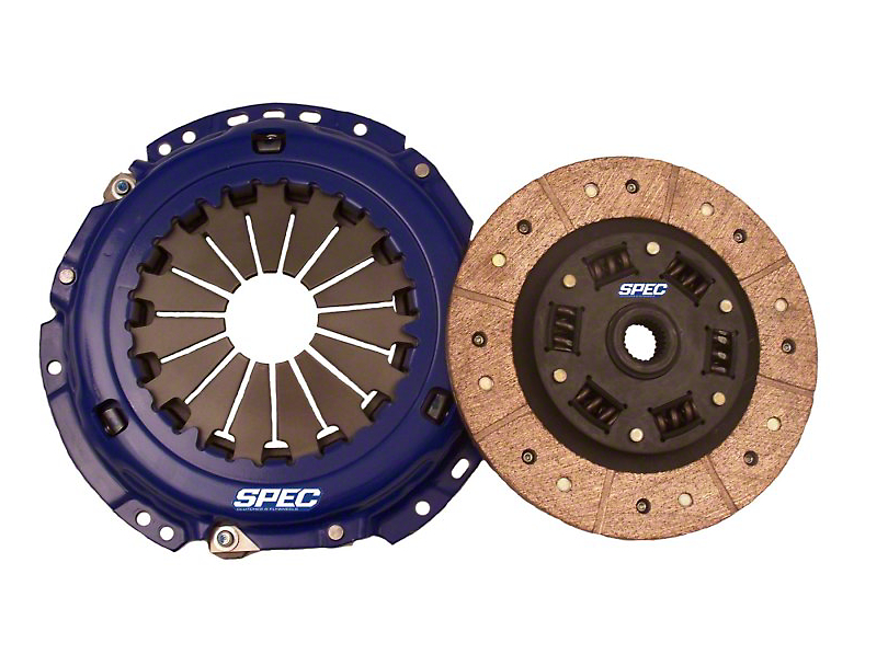 Spec Stage 3+ Carbon Clutch Kit; 10 Spline (05-10 GT)