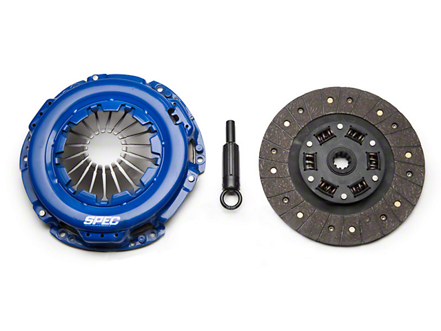 Spec Stage 1 Organic Clutch Kit; 10 Spline (June 07-10 V6)
