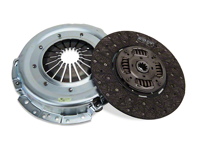 Exedy Mach 500 Stage 1 Organic Clutch Kit; 10 Spline (Late 01-04 GT; 99-04 Cobra; 03-04 Mach 1)