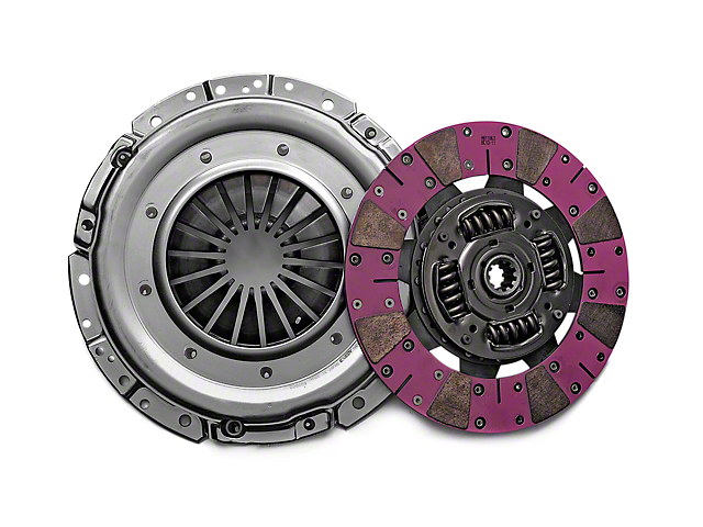 Exedy Mach 600 Stage 4 Clutch w/ Cushion Button Disc - 10 Spline (Late 01-04 GT; 99-04 Cobra; 03-04 Mach 1)