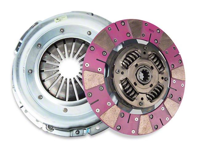 Exedy Mach 600 Stage 4 Cerametallic Clutch Kit w/ Cushion Button Disc & Hydraulic Throwout Bearing - 10 Spline (05-10 GT)