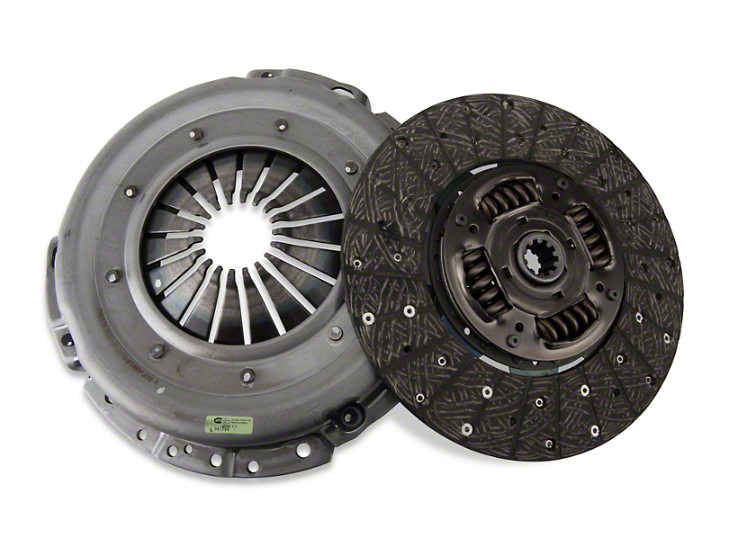 Exedy Mach 350 Stage 1 Organic Clutch Kit - 10 Spline (Late 01-04 GT; 99-04 Cobra; 03-04 Mach 1)