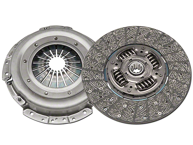 Exedy Mach 350 Stage 1 Organic Clutch Kit; 10 Spline (05-10 GT)