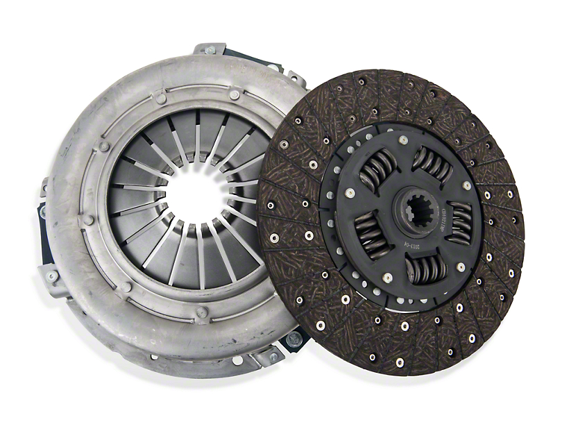 Exedy Mach 350 Stage 1 Organic Clutch Kit - 10 Spline (86-Mid 01 GT; 93-98 Cobra)