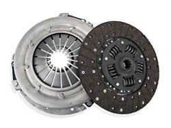 Exedy Mach 350 Stage 1 Organic Clutch Kit; 10 Spline (86-Mid 01 GT; 93-98 Cobra)
