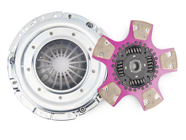 Exedy Mach 700 Stage 4 Clutch w/ Puck-Style Flywheel and Hydraulic Throwout Bearing (11-14 GT)