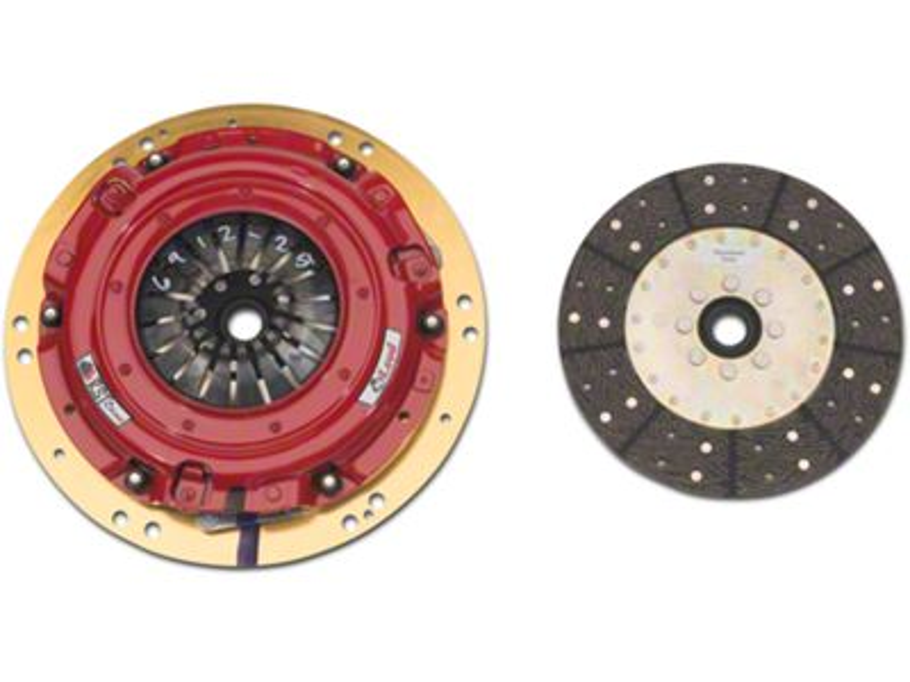 Org//Kevlar 12in X 1-3//16 X 18 Spline McLeod Racing 260853 Disc Dual Performance