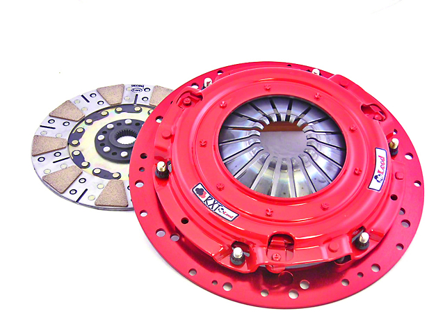 McLeod RXT Organic Twin Disc 1000HP Clutch Kit - 10 Spline (Late 01-10 GT; 99-04 Cobra; 03-04 Mach 1)