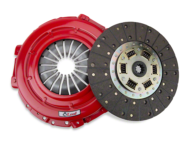 McLeod Street Pro Organic Clutch Kit; 10 Spline (Late 01-04 GT; 99-04 Cobra; 03-04 Mach 1)