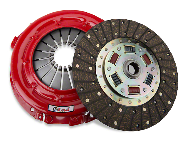 McLeod Super Street Pro Organic/Ceramic Clutch Kit; Upgraded 26 Spline (86-Mid 01 GT; 93-98 Cobra)