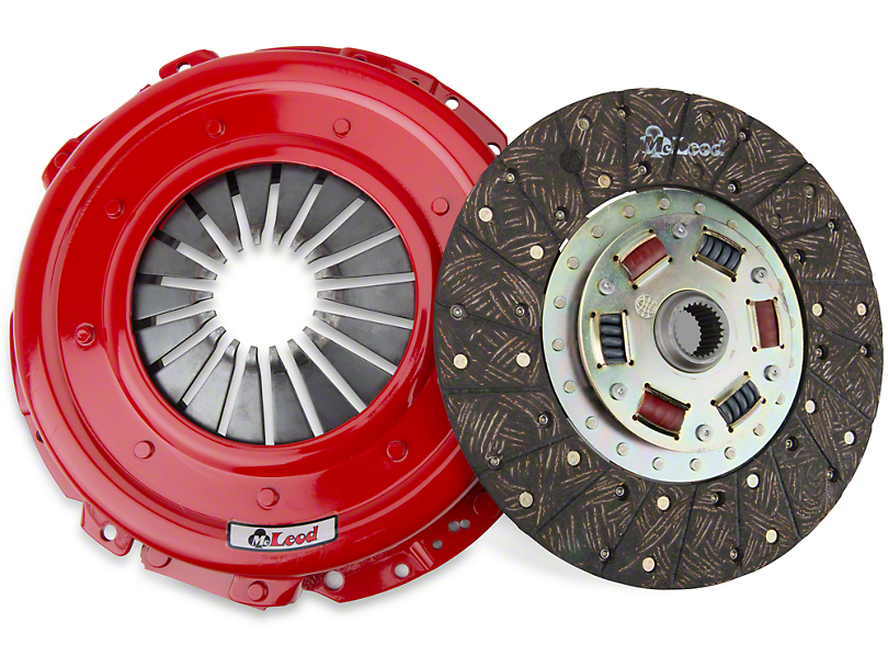 McLeod Super Street Pro Organic/Ceramic Clutch Kit - Upgraded 26 Spline (05-10 GT)