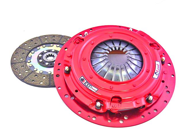 McLeod RST Twin Disc 800HP Organic Clutch Kit; 26 Spline (Late 01-10 GT; 99-04 Cobra; 03-04 Mach 1)