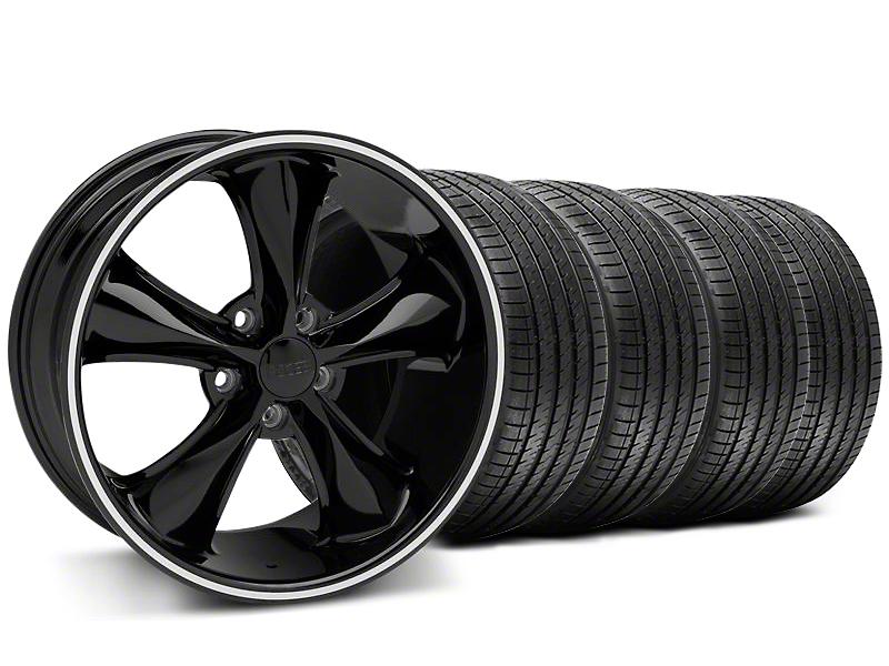 Foose Legend Black Wheel & Sumitomo Tire Kit - 18x8.5 (05-10 GT, V6)