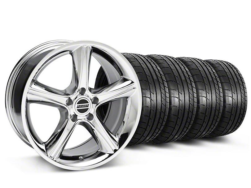 2010 GT Premium Style Chrome Wheel & Mickey Thompson Tire Kit - 18x9 (05-14 All)