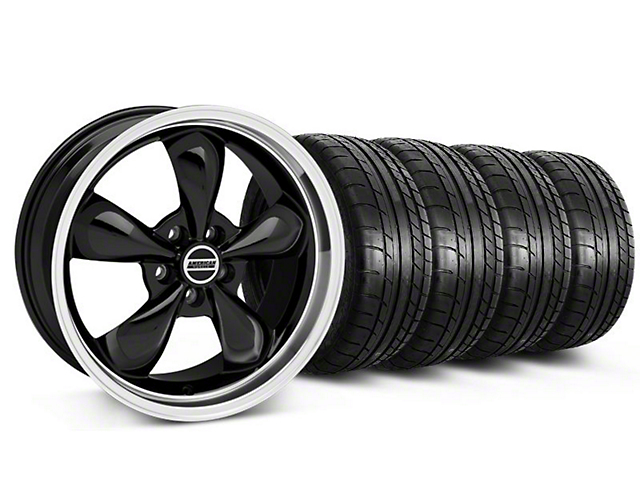 Bullitt Black Wheel & Mickey Thompson Tire Kit - 17x9 (87-93 w/ 5 Lug Conversion)