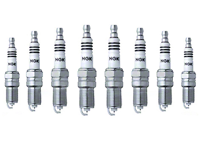 NGK Iridium IX Performance Spark Plugs (93-01 Cobra; 96-04 GT, Mach 1; 98-04 V6)