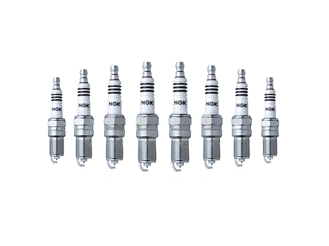 NGK Iridium IX Performance Spark Plugs (1986 5.0L)