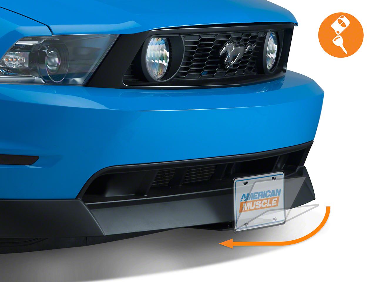 SpeedForm Flip Down License Plate Holder - Motorized (79-19 All)