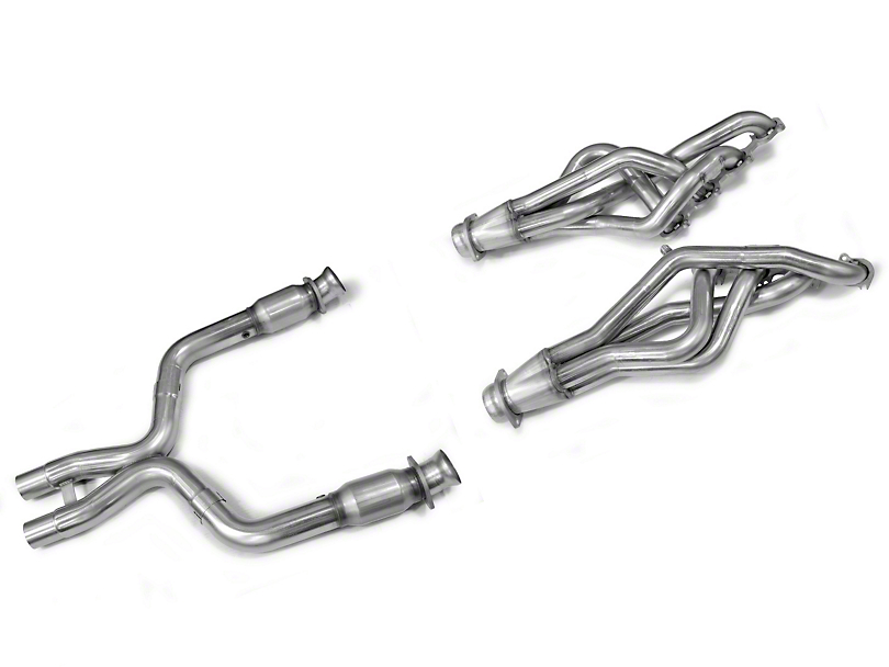 Kooks 1-3/4-Inch Long Tube Headers with Catted X-Pipe (11-14 GT500)