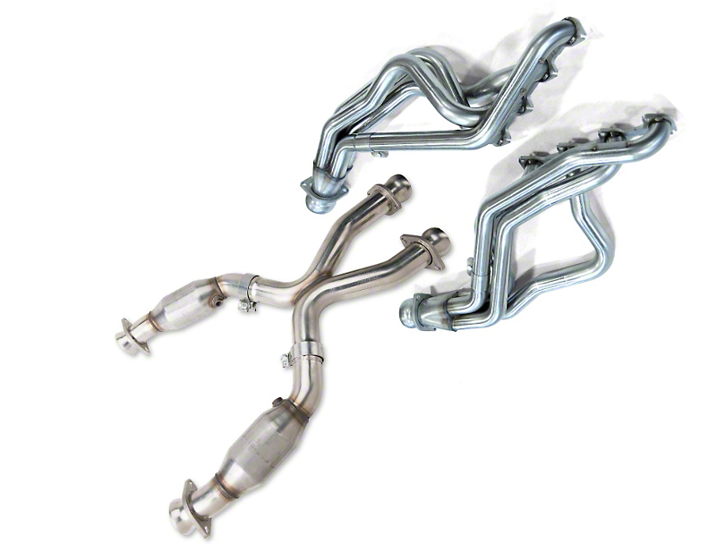 Kooks 1-5/8-Inch Long Tube Headers with Catted X-Pipe (96-98 GT)