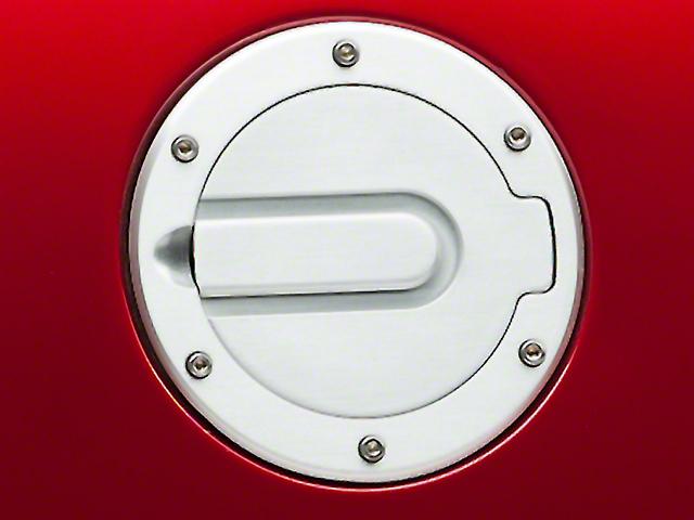 SHR Fuel Door; Brushed (94-04 All)