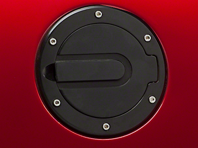 SHR Fuel Door; Black (94-04 All)