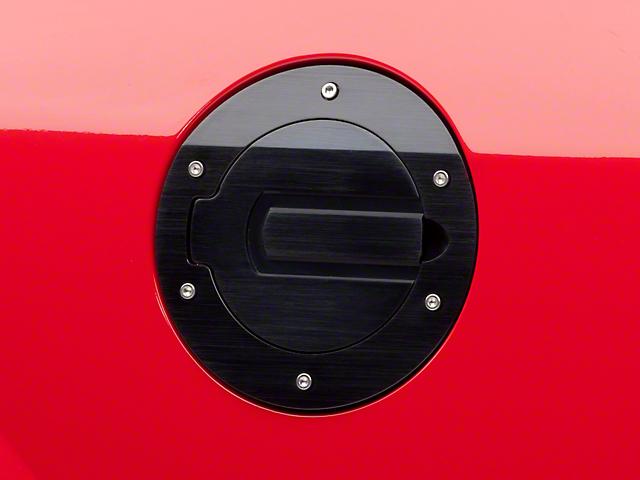 SHR Fuel Door; Black (05-09 All)