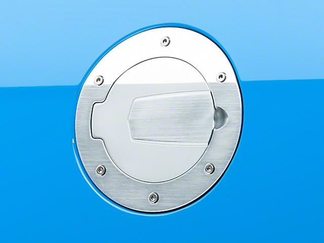 SHR Fuel Door; Brushed (10-14 All)