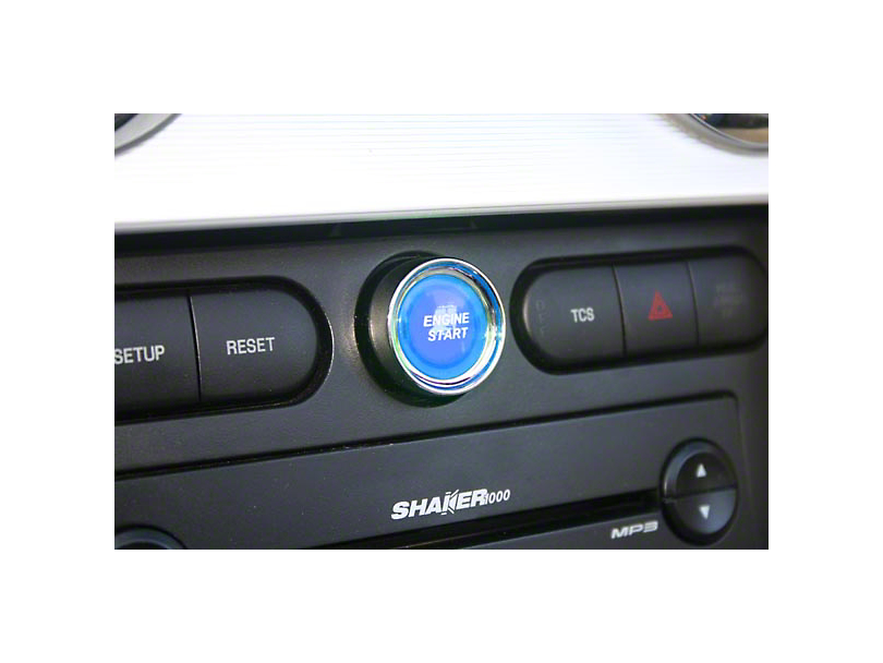 SHR Illuminated Push Button Start Ignition Kit - Blue (05-09 All)