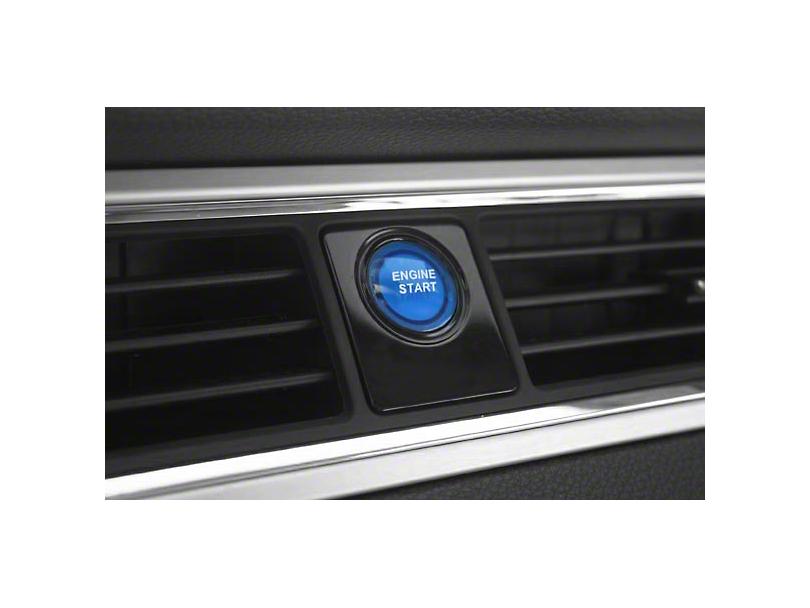 SHR Illuminated Push Button Start Ignition Kit - Blue (10-14 All)