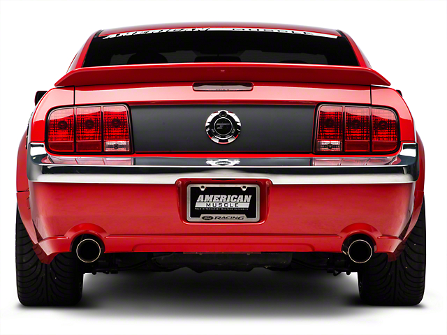 Retro USA Chrome Rear Bumper Trim (05-09 GT, V6)