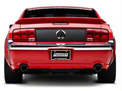 Chrome Rear Bumper Trim (05-09 GT, V6)