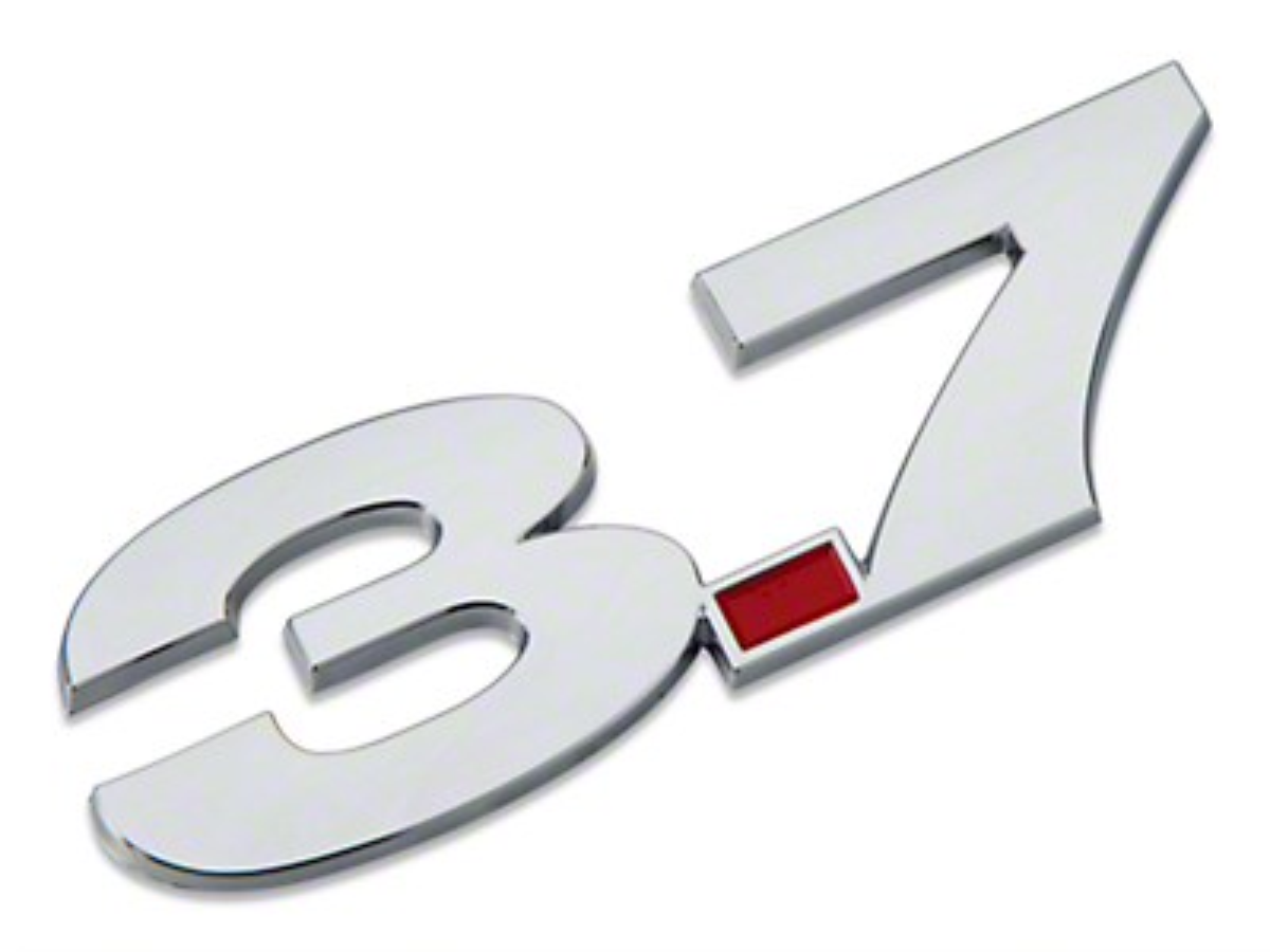 3.7L V6 Fender Emblem