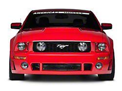 Roush Front Fascia; Unpainted (05-09 GT, V6)