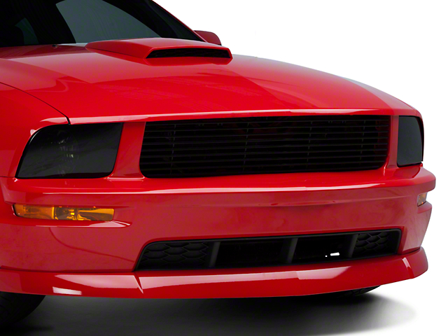 Roush Mustang 9 Bar Billet Grille Black 403184 05 09 Gt
