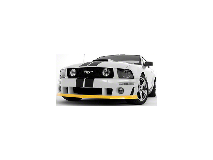 Roush Front Fascia Chin Spoiler - Unpainted (05-09 GT, V6)