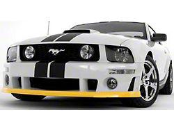 Roush Front Fascia Chin Spoiler; Unpainted (05-09 GT, V6)