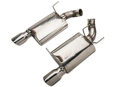 MBRP Pro-Series Axle-Back Exhaust - Stainless Steel (11-14 GT)