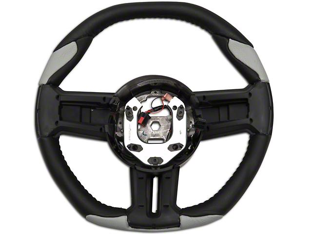 Grant Steering Wheel; Black/Gray (10-14 All)