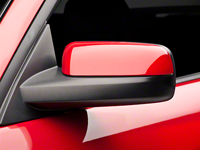 SpeedForm Pre-Painted Mirror Covers - Black (05-09 All)
