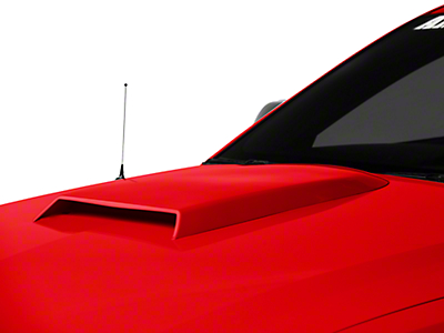 Pre-Painted Hood Scoop - Candy Apple Red (05-09 GT, V6)