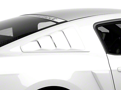 MMD Quarter Window Louvers - Unpainted (05-14 All)