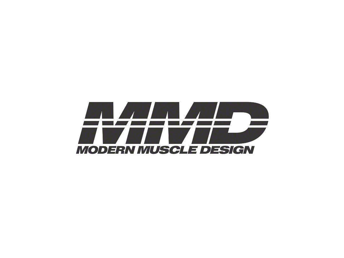 MMD Quarter Window Louvers - Unpainted (05-14 Coupe)