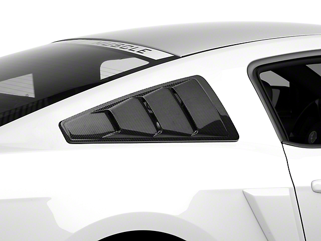 MMD Quarter Window Louvers - Carbon Fiber (05-14 All)